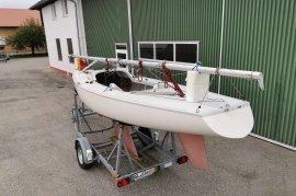 Segelboot Boerresen BB Yngling nur 1 Segelsaison, € 5.800,00